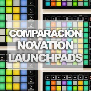 miniatura comparativa launchpads