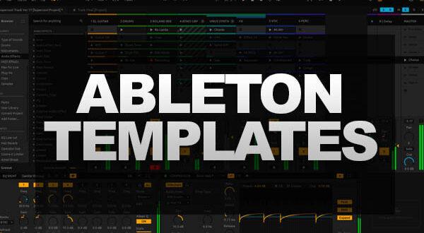 templates para ableton live