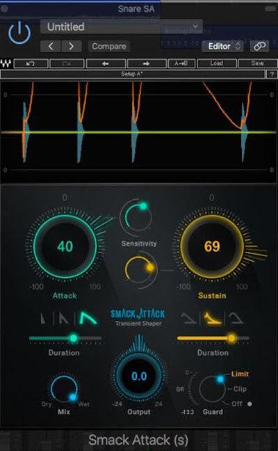 plugin para ableton waves smack attack