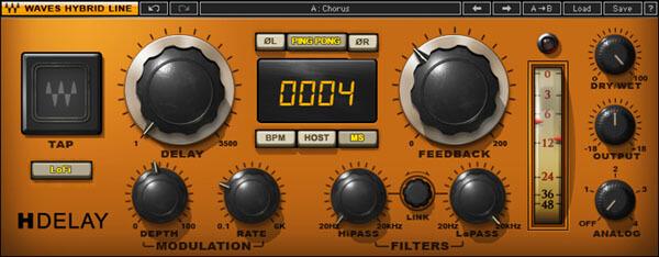 plugin para ableton waves h-delay